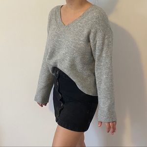 🔥2 for $20🔥 Slouchy grey sweater